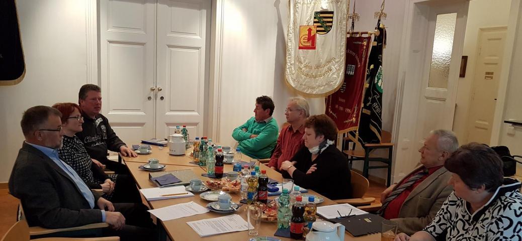 Fraktion Freie Wähler im Kreistag Bautzen bei Kreishandwerkerschaft